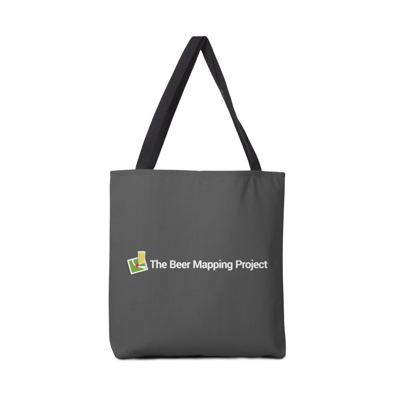 The Beer Mapping Project logo Accessories Tote Bag Bag by The Beer Mapping Shop