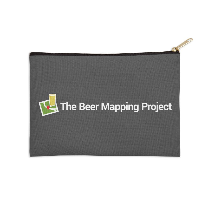 The Beer Mapping Project logo Accessories Zip Pouch by The Beer Mapping Shop