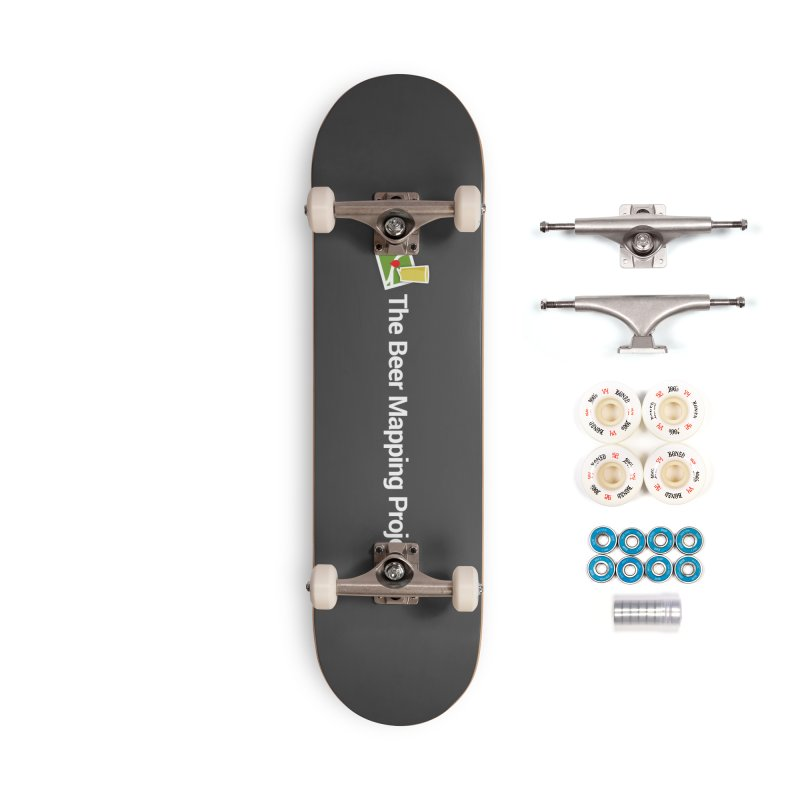 The Beer Mapping Project logo Accessories Complete - Premium Skateboard by The Beer Mapping Shop