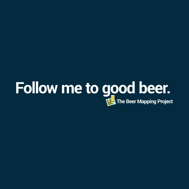 Follow me to good beer. by The Beer Mapping Shop
