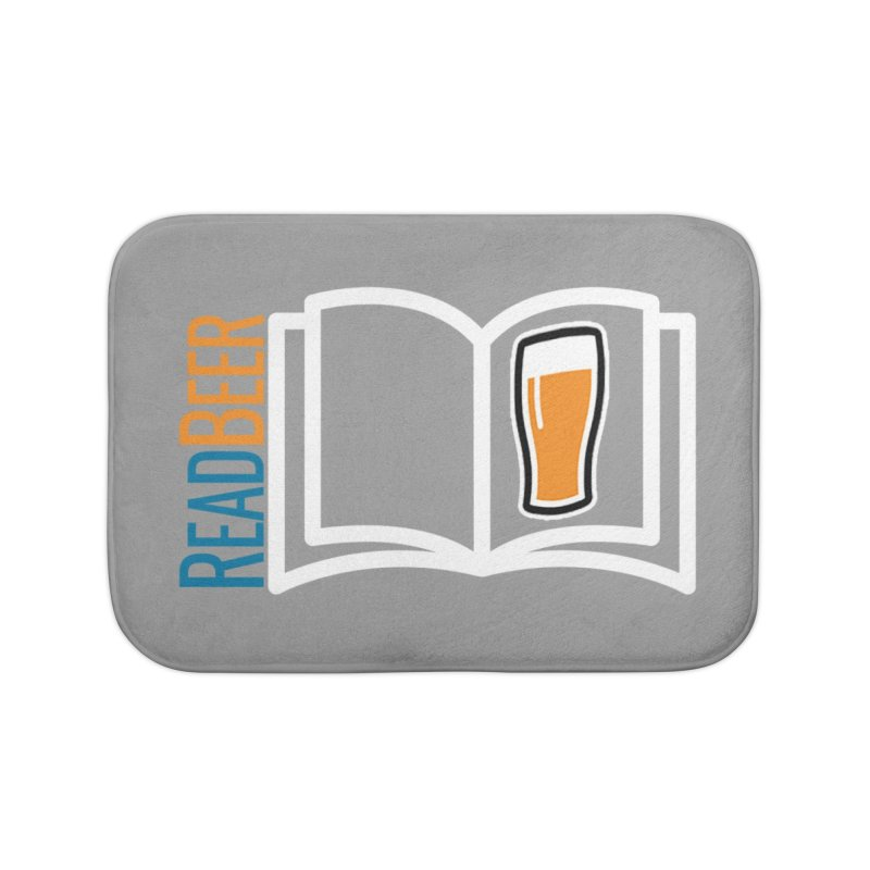 ReadBeer.com Home Bath Mat by The Beer Mapping Shop