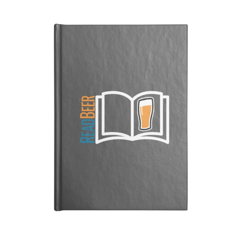 ReadBeer.com Accessories Blank Journal Notebook by The Beer Mapping Shop