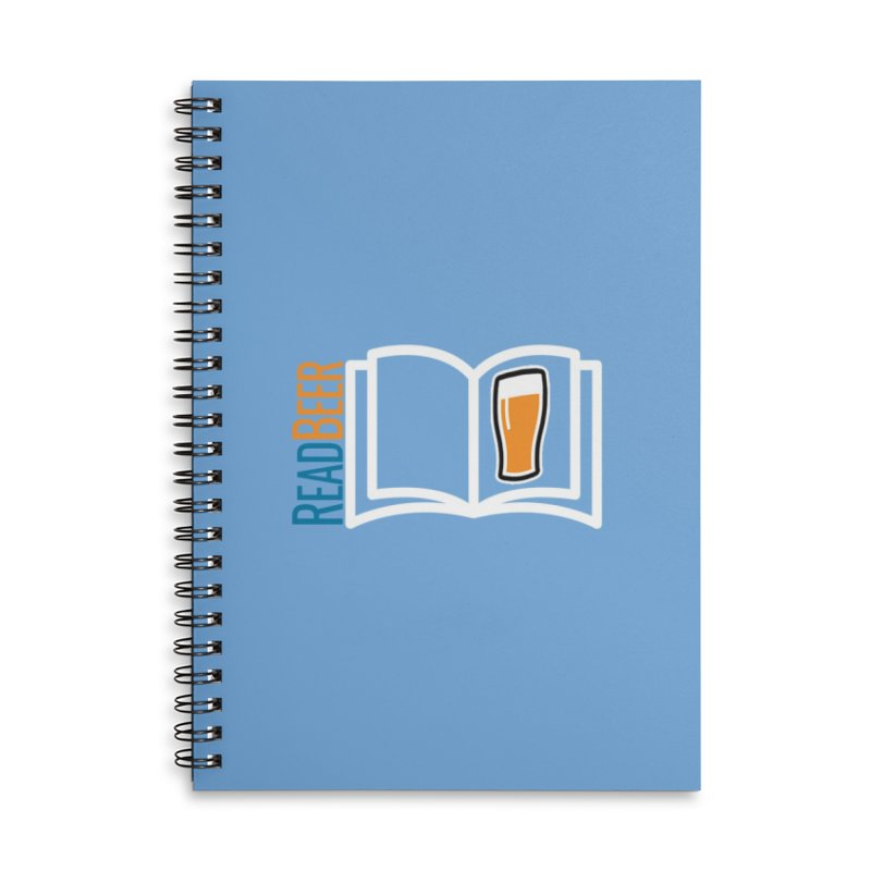 ReadBeer.com Accessories Lined Spiral Notebook by The Beer Mapping Shop