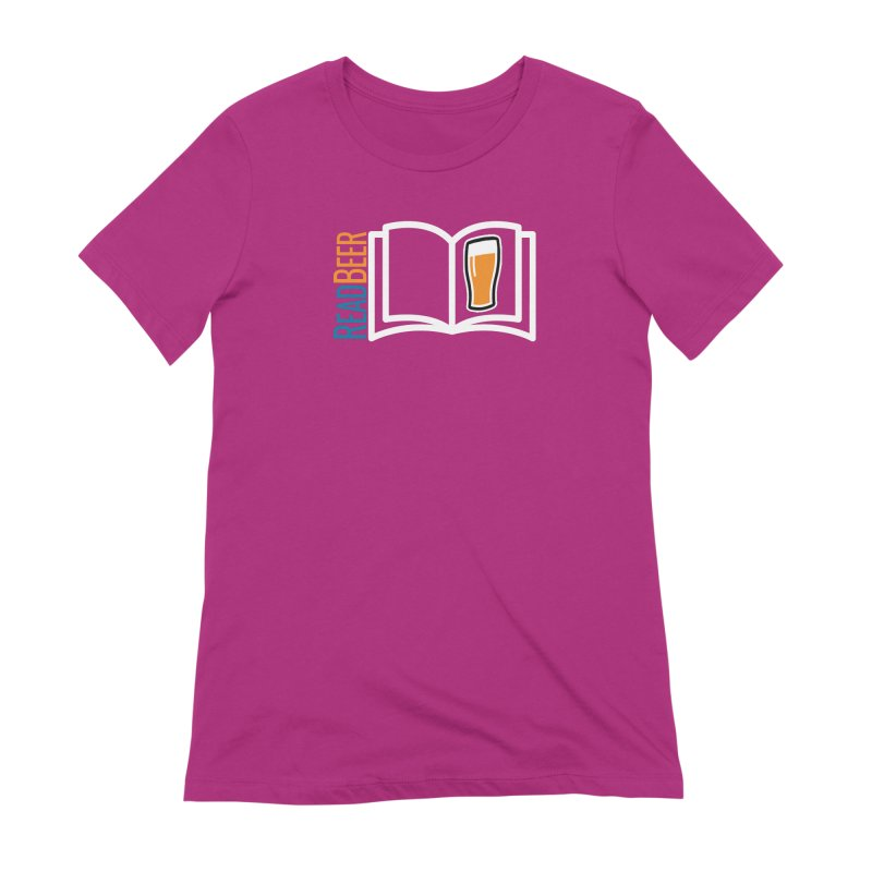 ReadBeer.com Women's Extra Soft T-Shirt by The Beer Mapping Shop