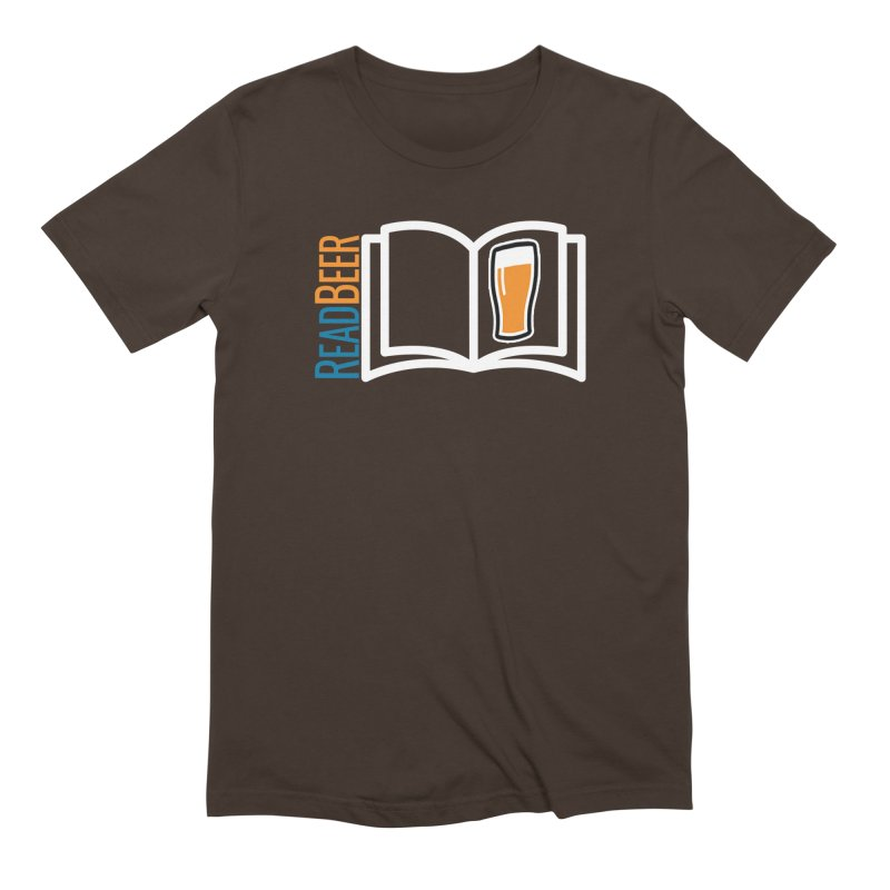 ReadBeer.com Men's Extra Soft T-Shirt by The Beer Mapping Shop