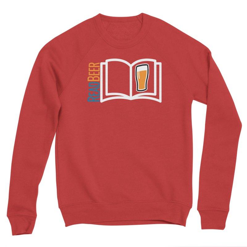 ReadBeer.com Men's Sponge Fleece Sweatshirt by The Beer Mapping Shop