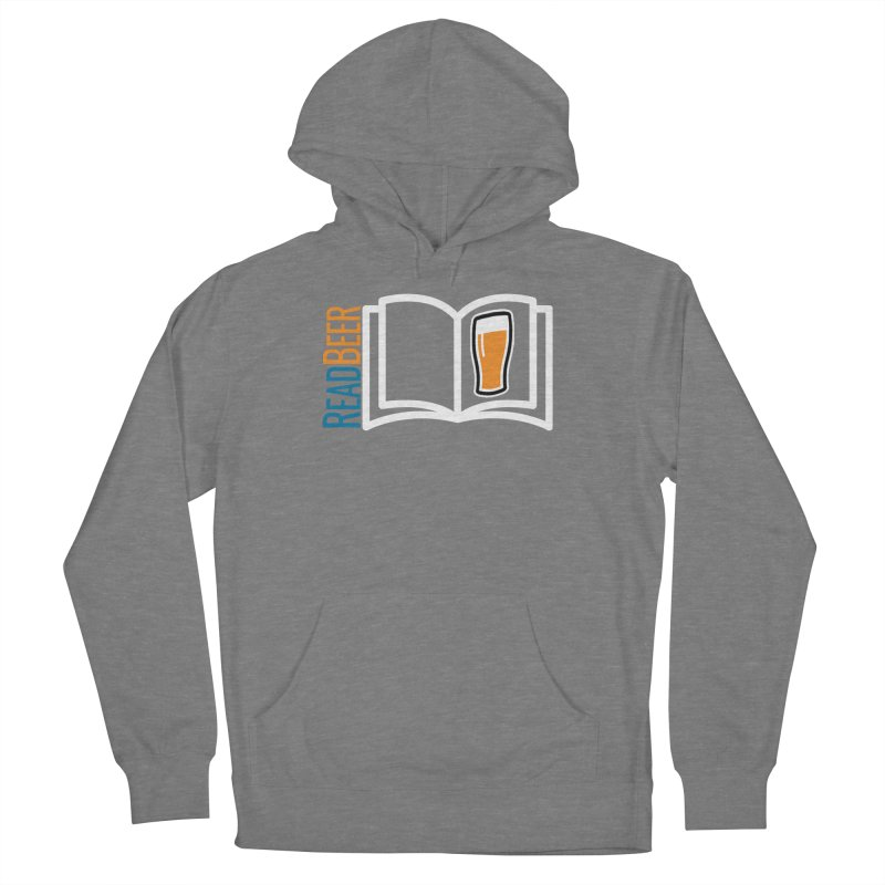 ReadBeer.com Men's French Terry Pullover Hoody by The Beer Mapping Shop
