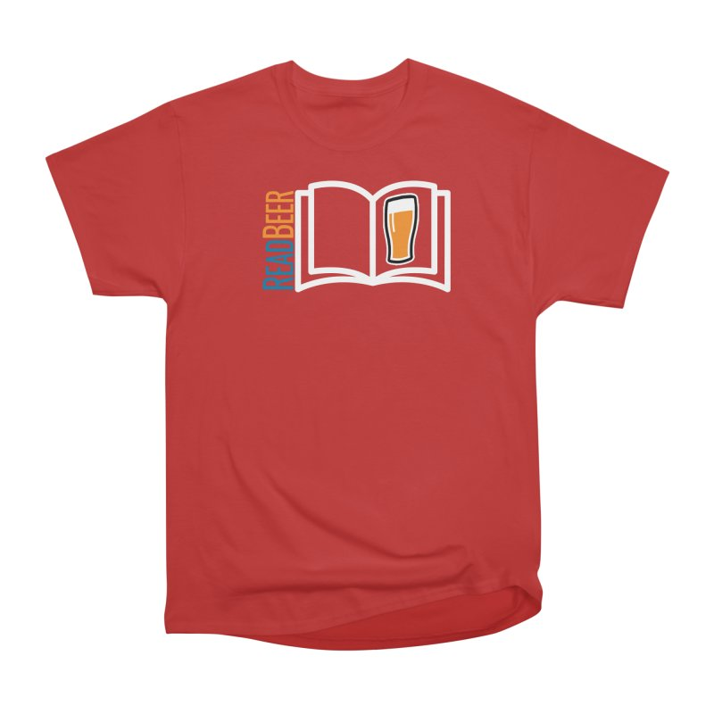 ReadBeer.com Men's Heavyweight T-Shirt by The Beer Mapping Shop