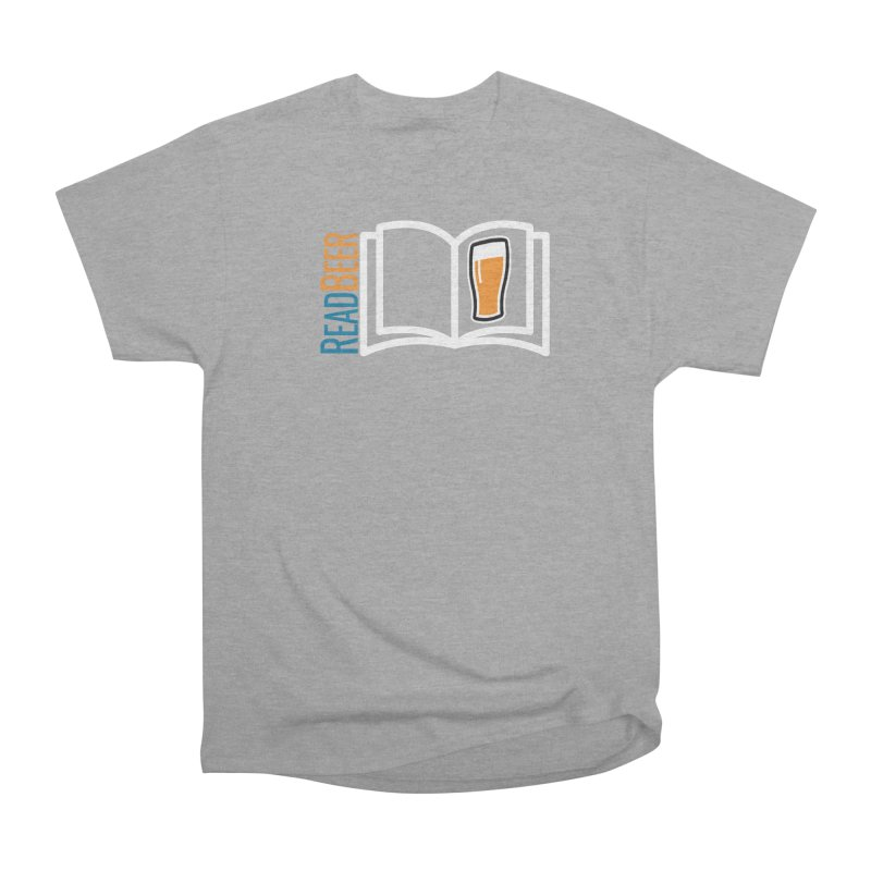 ReadBeer.com Women's Heavyweight Unisex T-Shirt by The Beer Mapping Shop