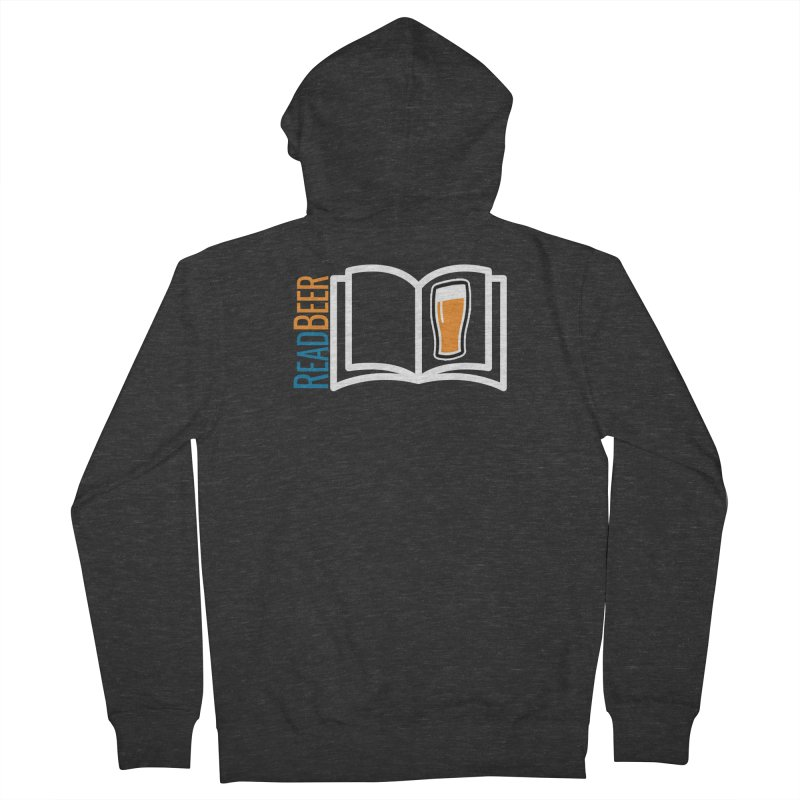 ReadBeer.com Women's French Terry Zip-Up Hoody by The Beer Mapping Shop