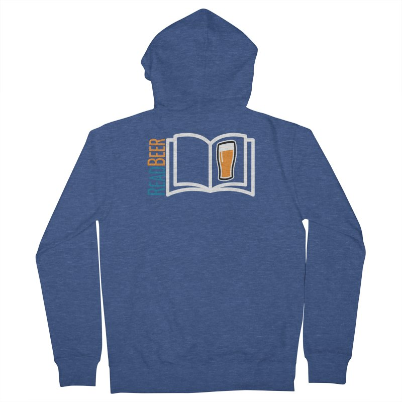 ReadBeer.com Men's French Terry Zip-Up Hoody by The Beer Mapping Shop