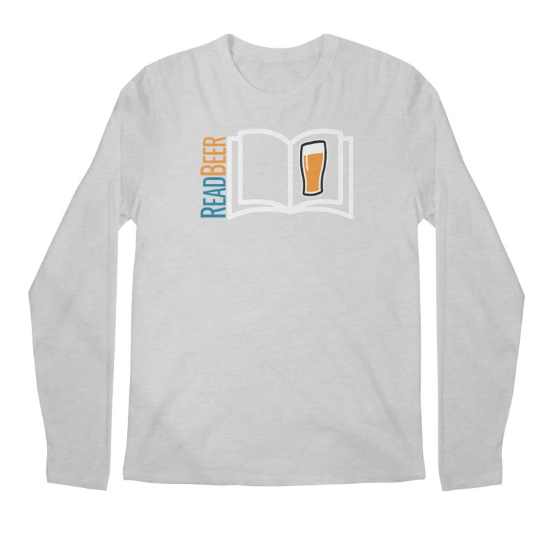 ReadBeer.com Men's Regular Longsleeve T-Shirt by The Beer Mapping Shop