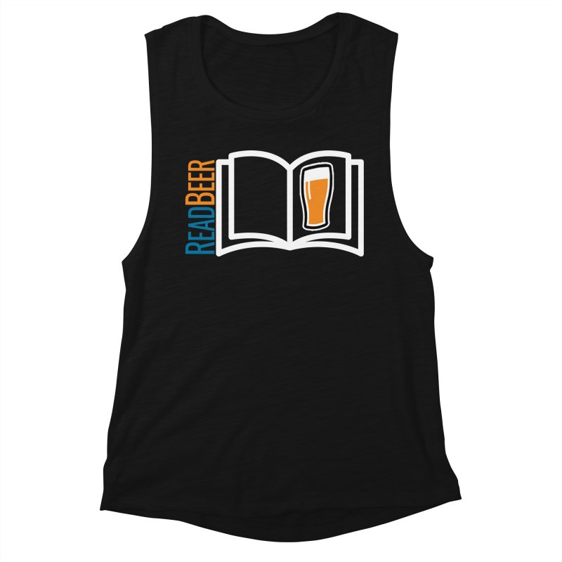 ReadBeer.com Women's Muscle Tank by The Beer Mapping Shop