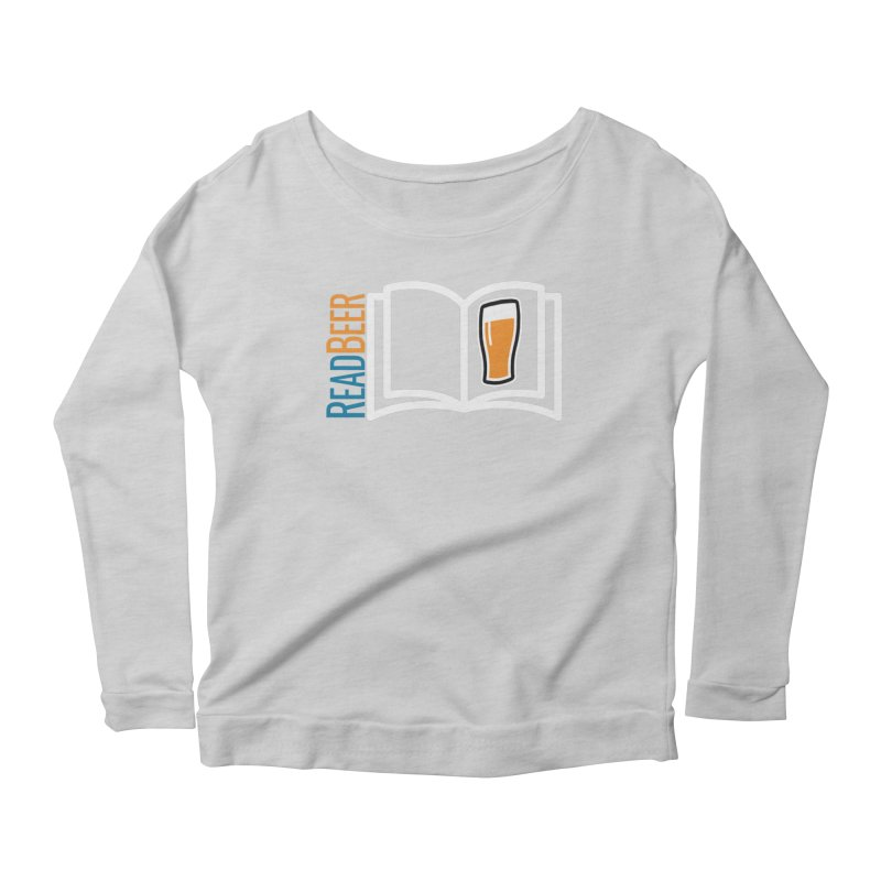 ReadBeer.com Women's Scoop Neck Longsleeve T-Shirt by The Beer Mapping Shop