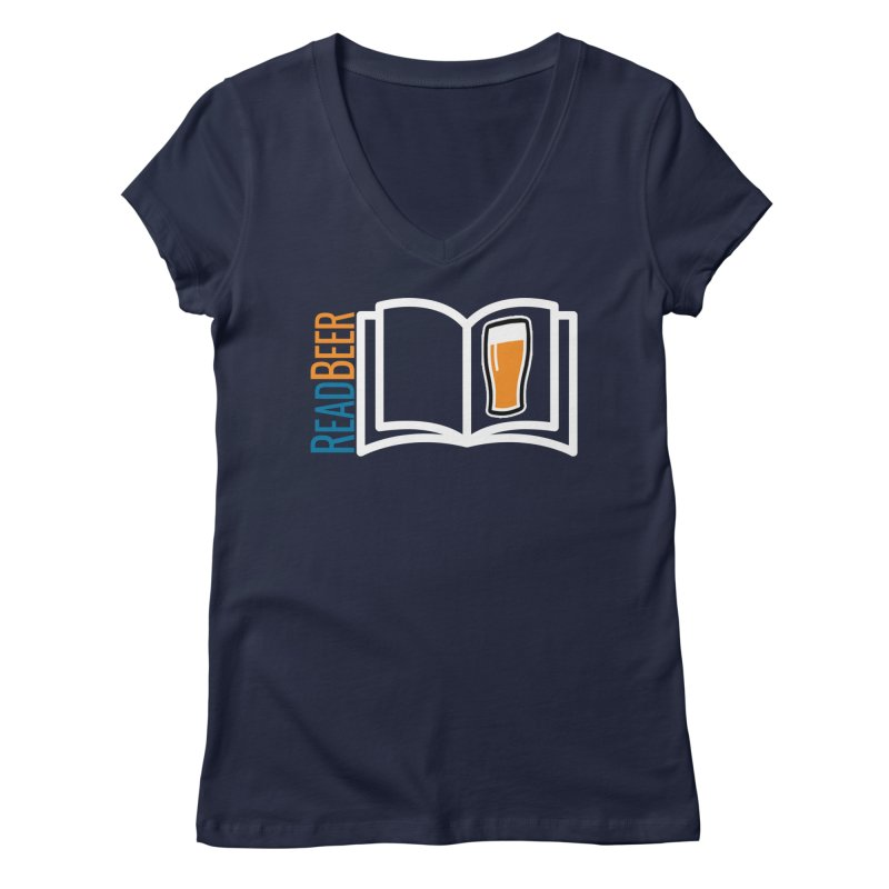 ReadBeer.com Women's Regular V-Neck by The Beer Mapping Shop