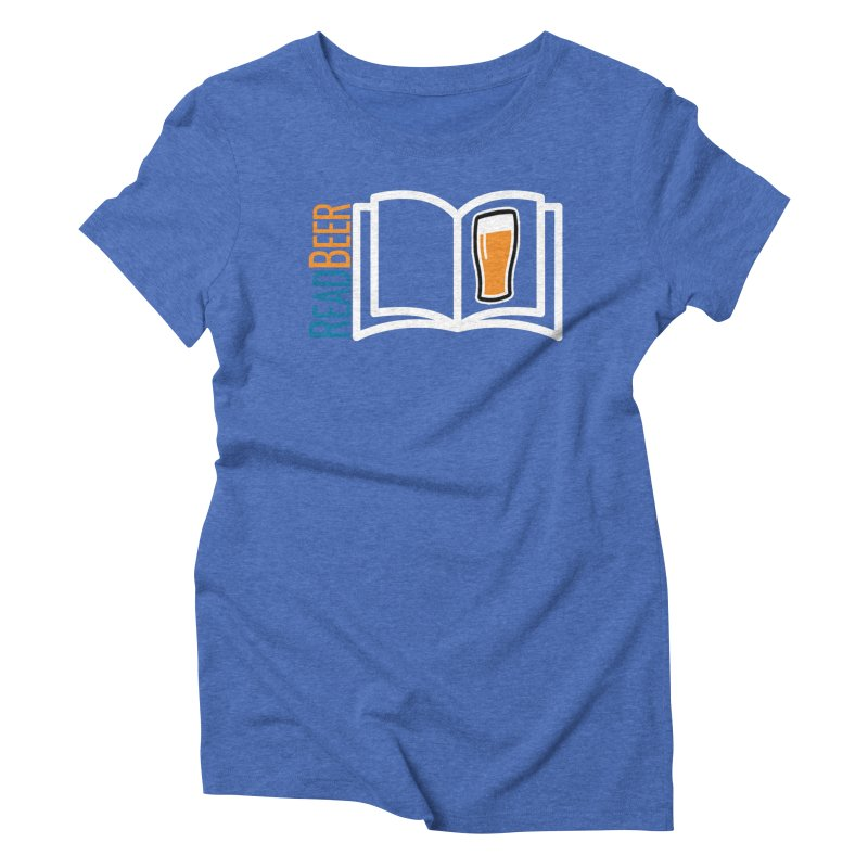 ReadBeer.com Women's Triblend T-Shirt by The Beer Mapping Shop