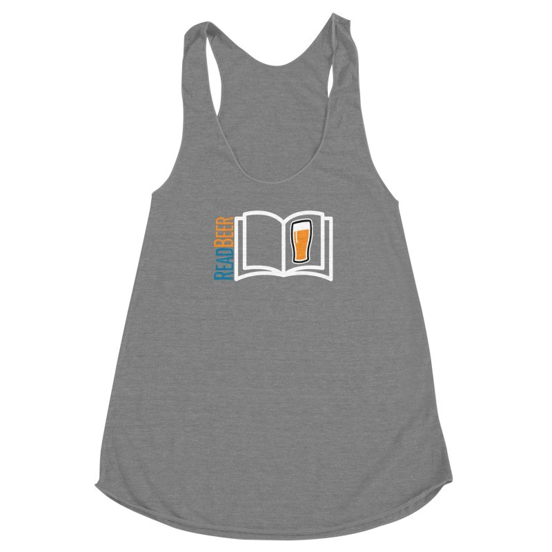 ReadBeer.com Women's Racerback Triblend Tank by The Beer Mapping Shop