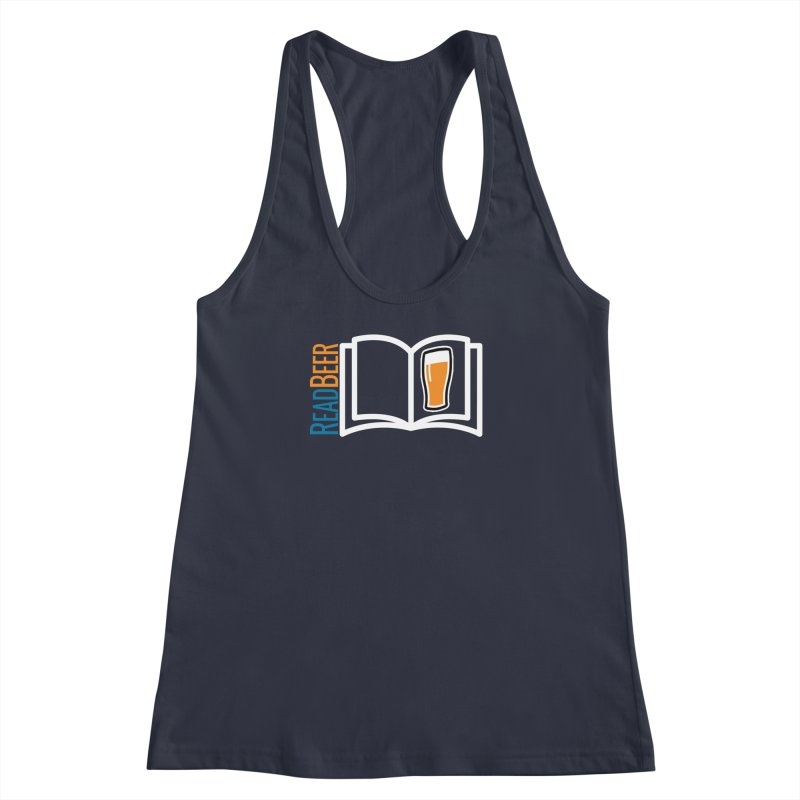 ReadBeer.com Women's Racerback Tank by The Beer Mapping Shop
