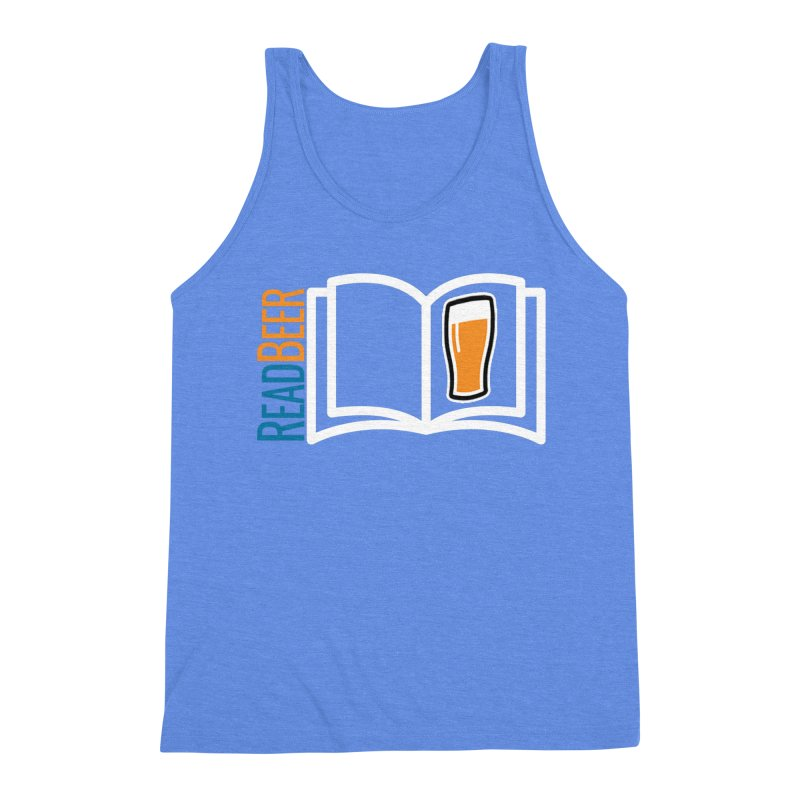 ReadBeer.com Men's Triblend Tank by The Beer Mapping Shop