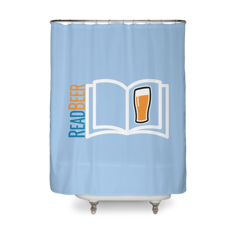 ReadBeer.com Home Shower Curtain by The Beer Mapping Shop