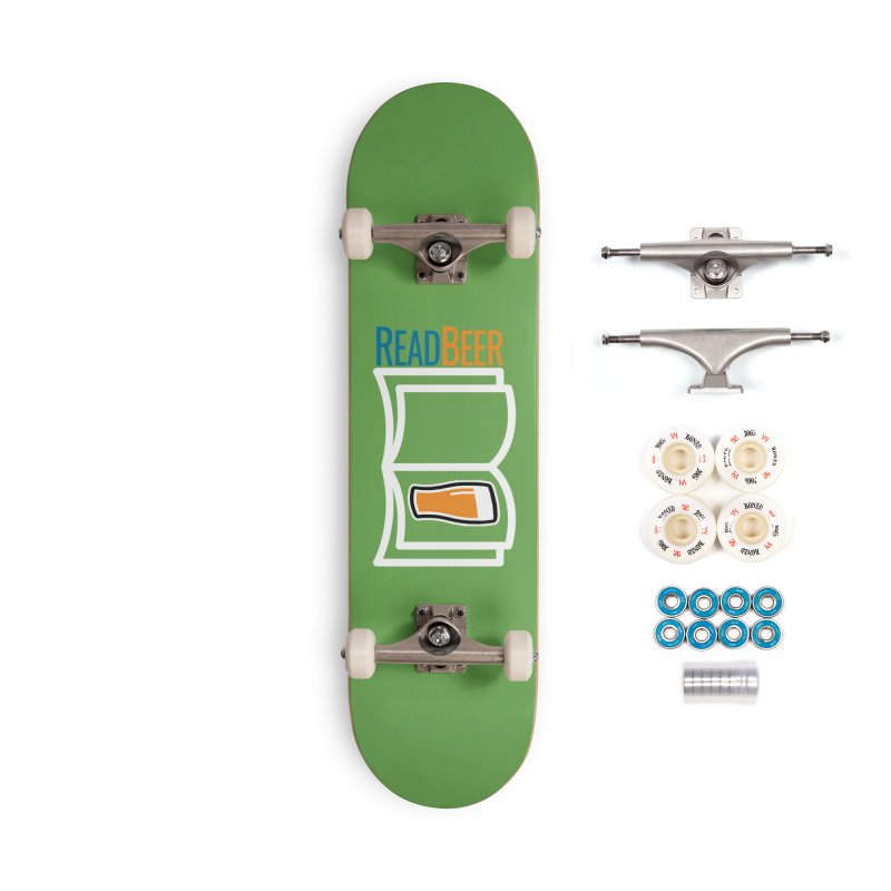 ReadBeer.com Accessories Complete - Premium Skateboard by The Beer Mapping Shop