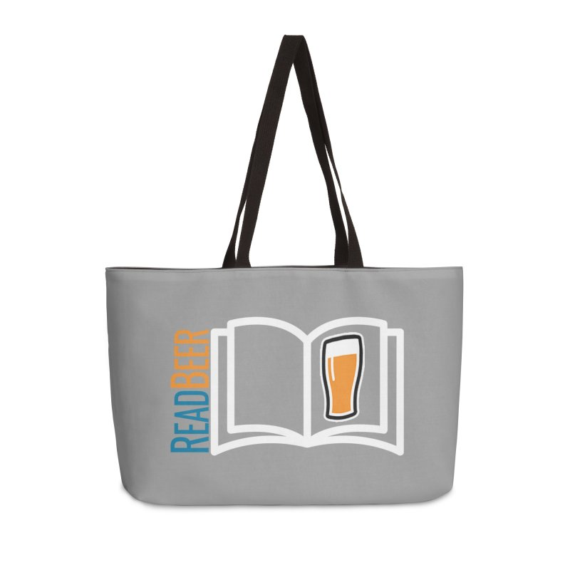 ReadBeer.com Accessories Weekender Bag Bag by The Beer Mapping Shop