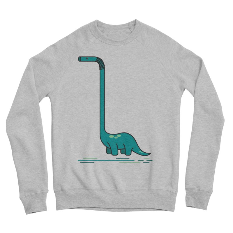 Dinostraw Men's Sponge Fleece Sweatshirt by Beers All Round