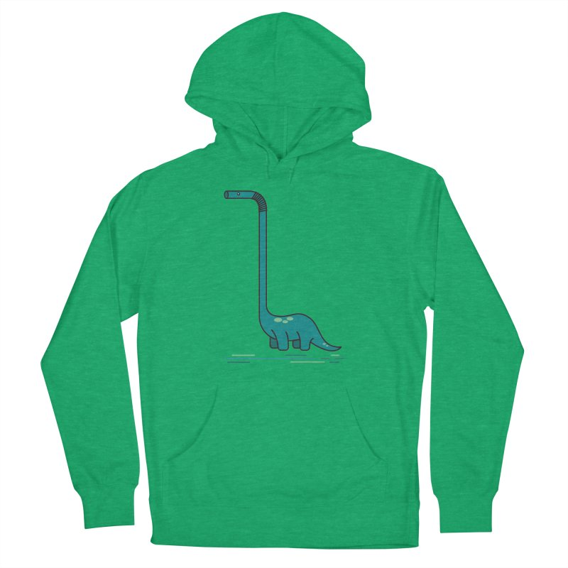 Dinostraw Men's Pullover Hoody by Beers All Round