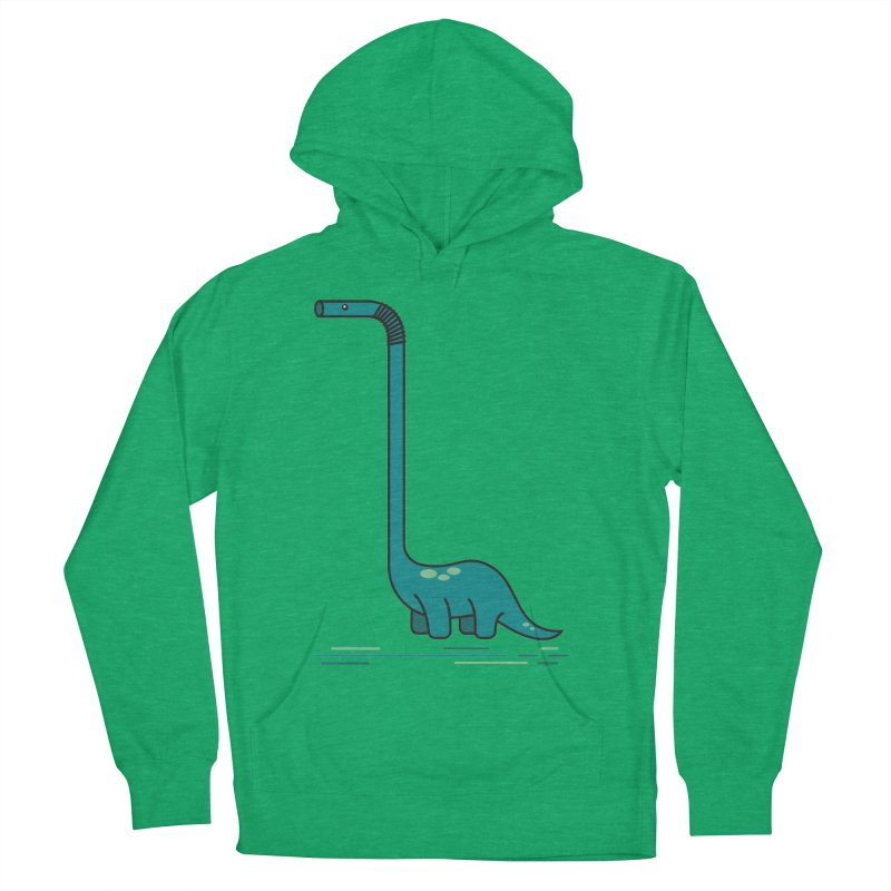 Dinostraw Women's Pullover Hoody by Beers All Round