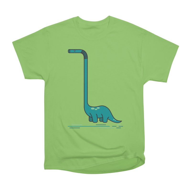 Dinostraw Men's Heavyweight T-Shirt by Beers All Round