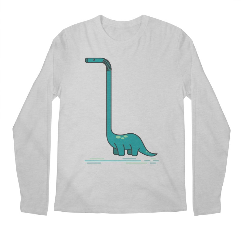 Dinostraw Men's Longsleeve T-Shirt by Beers All Round