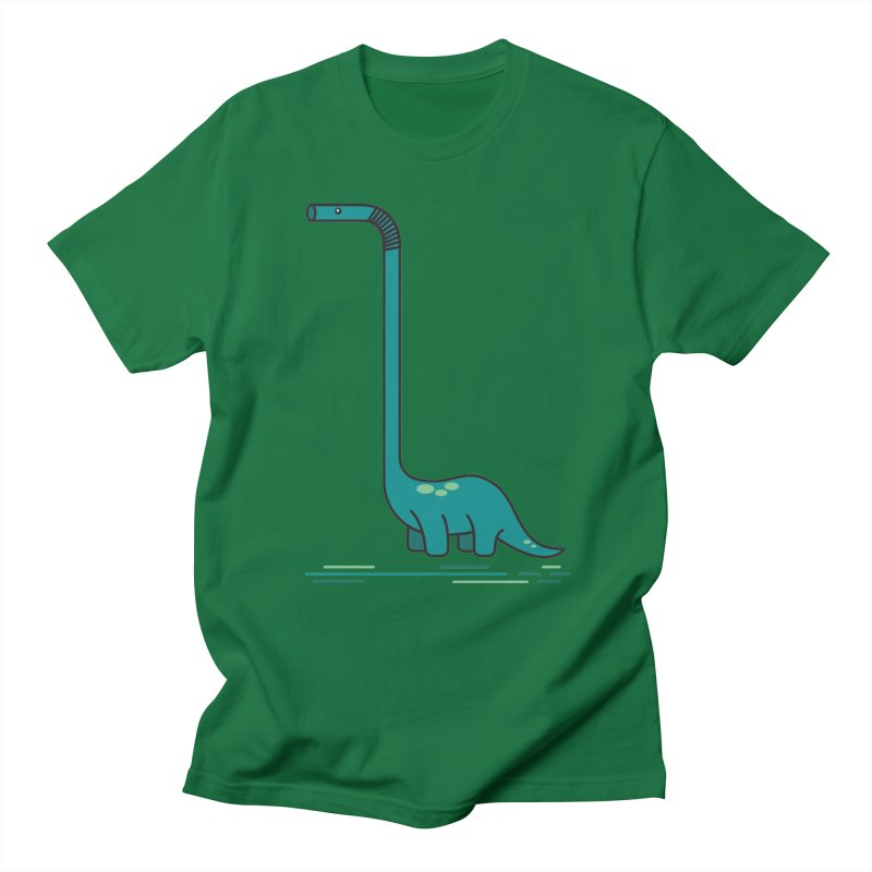 Dinostraw Men's T-Shirt by Beers All Round