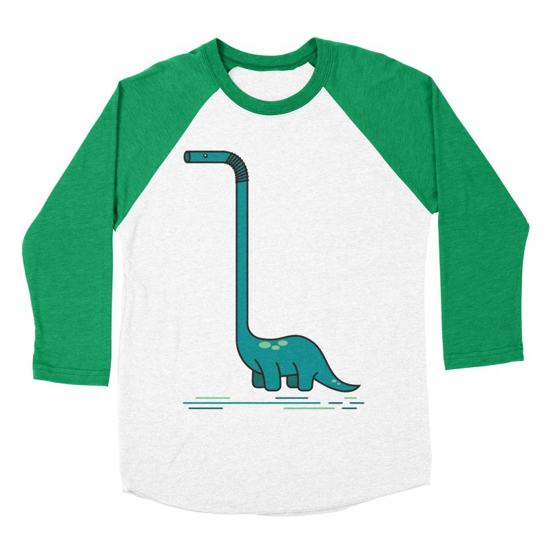 Dinostraw Women's Longsleeve T-Shirt by Beers All Round