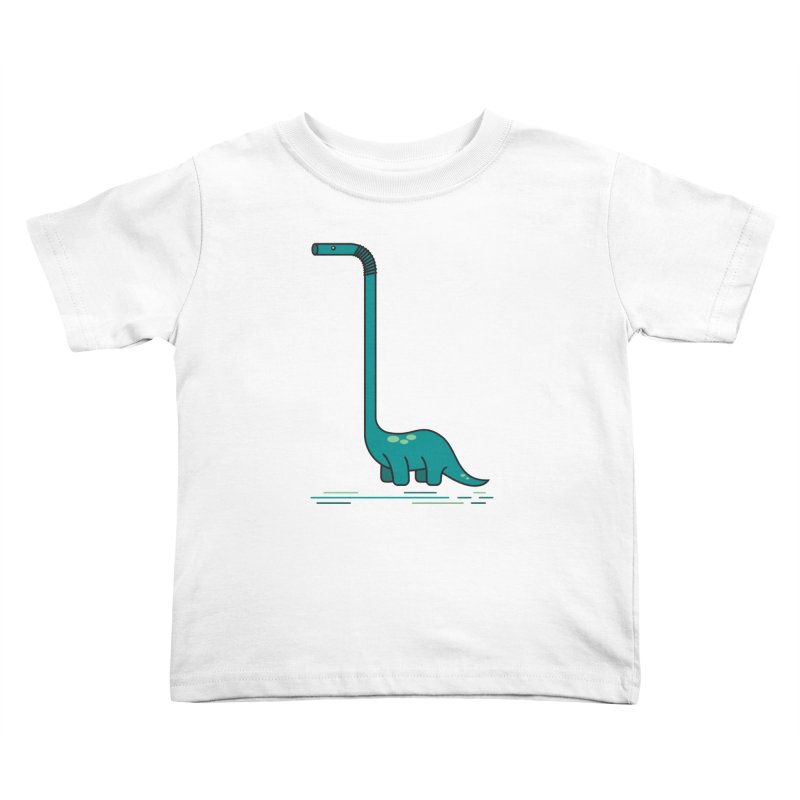 Dinostraw Kids Toddler T-Shirt by Beers All Round