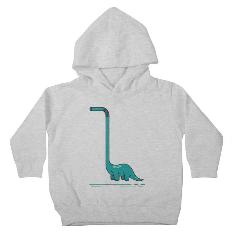 Dinostraw Kids Toddler Pullover Hoody by Beers All Round