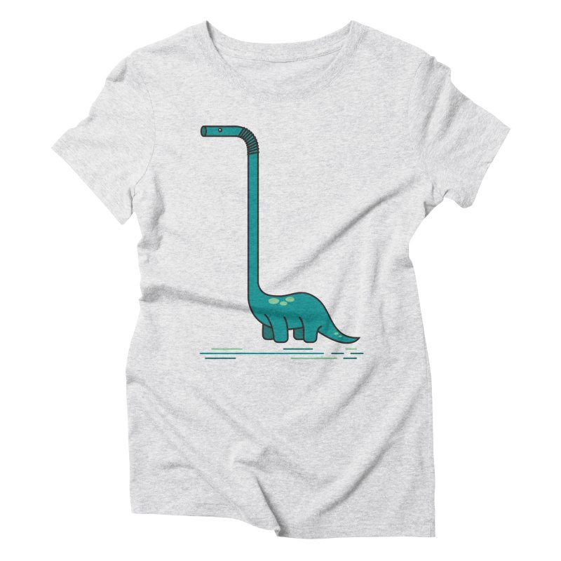 Dinostraw Women's T-Shirt by Beers All Round