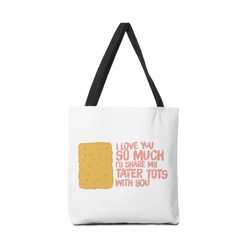 tater tot love Accessories Bag by Beers All Round