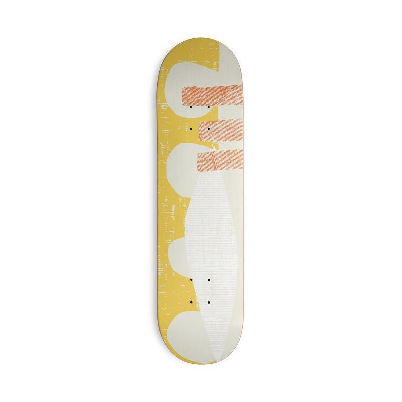 Autumn wax Accessories Deck Only Skateboard by Beers All Round