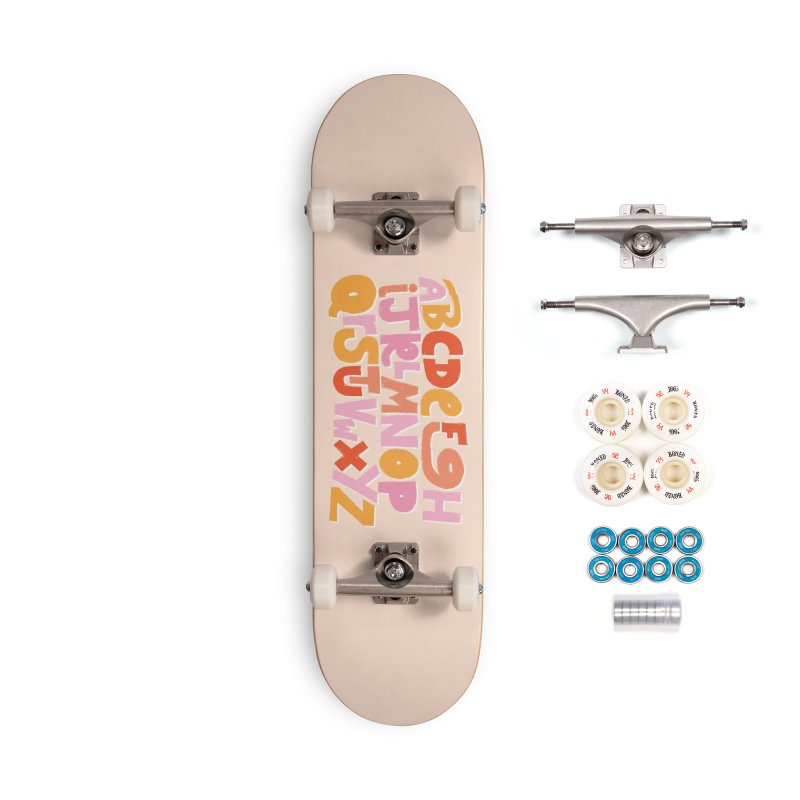 Alphabet Accessories Skateboard by Beers All Round
