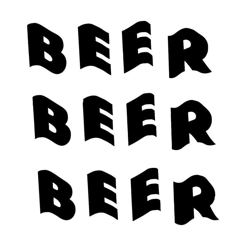 Beer, Beer and more Beer Home Fine Art Print by Beers All Round