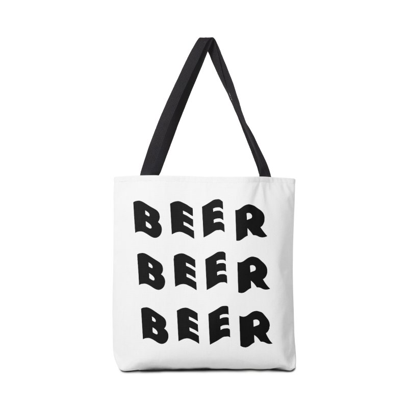 Beer, Beer and more Beer Accessories Bag by Beers All Round