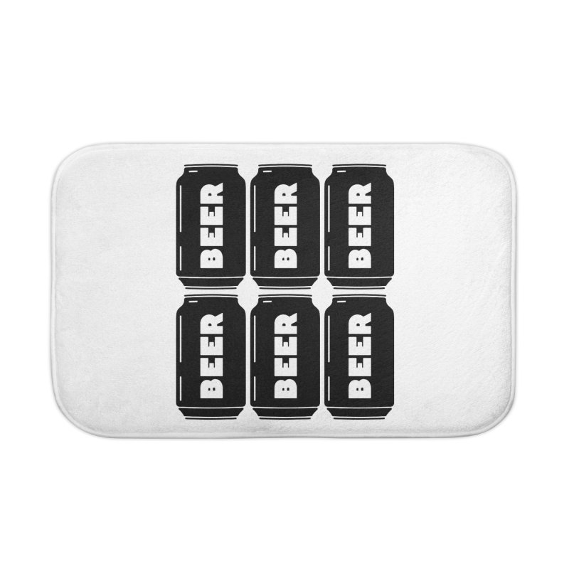 6-Pack Home Bath Mat by Beers All Round