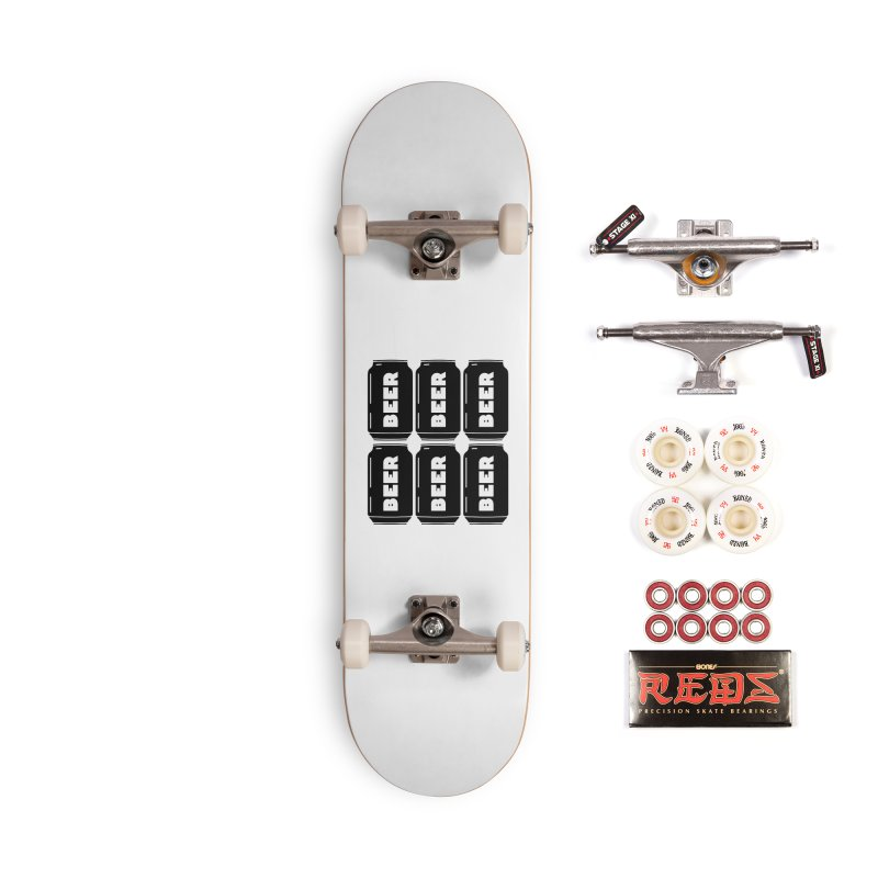 6-Pack Accessories Skateboard by Beers All Round