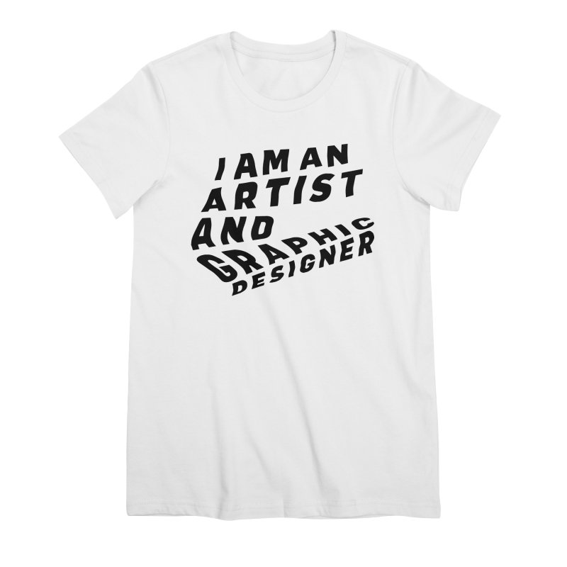 Who I am  Women's Premium T-Shirt by Beers All Round