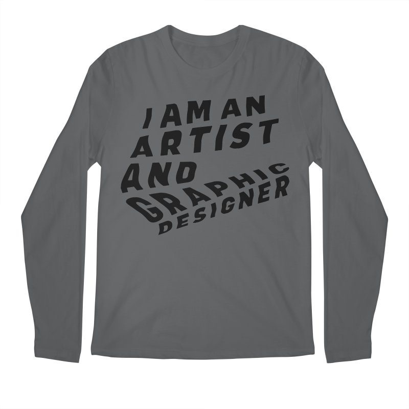 Who I am  Men's Longsleeve T-Shirt by Beers All Round