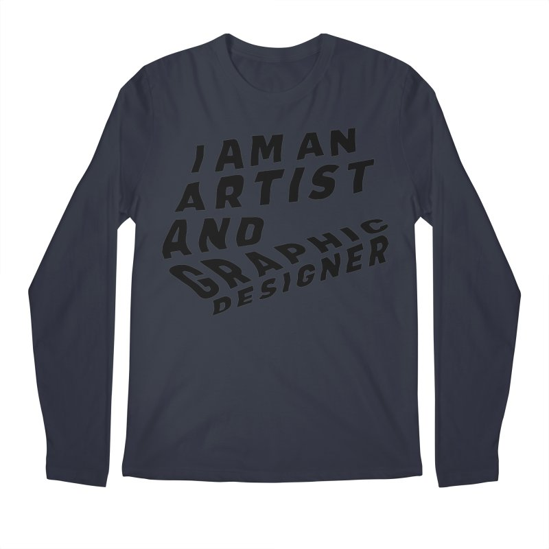 Who I am  Men's Regular Longsleeve T-Shirt by Beers All Round