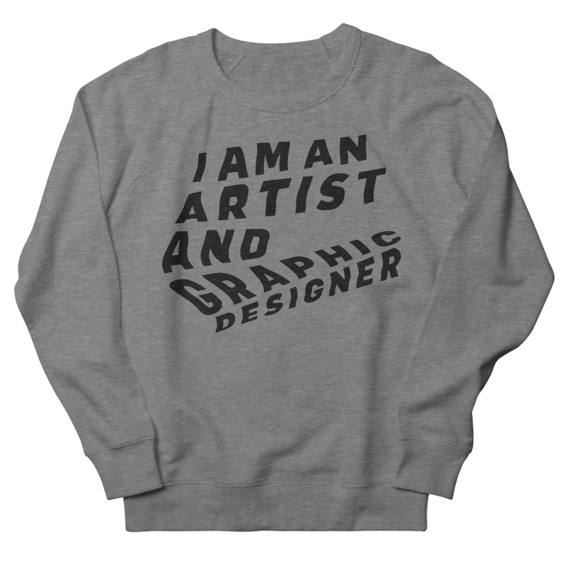 Who I am  Men's French Terry Sweatshirt by Beers All Round