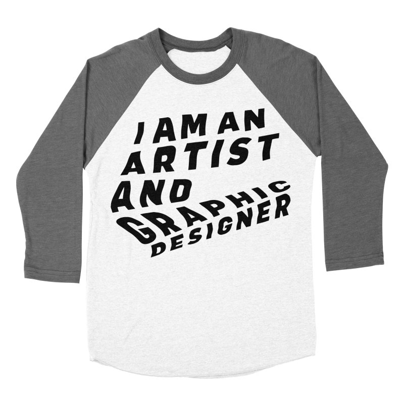 Who I am  Men's Baseball Triblend Longsleeve T-Shirt by Beers All Round