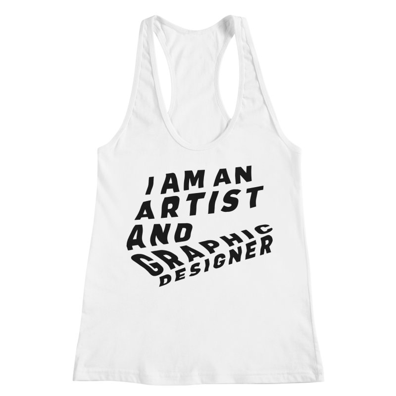 Who I am  Women's Racerback Tank by Beers All Round
