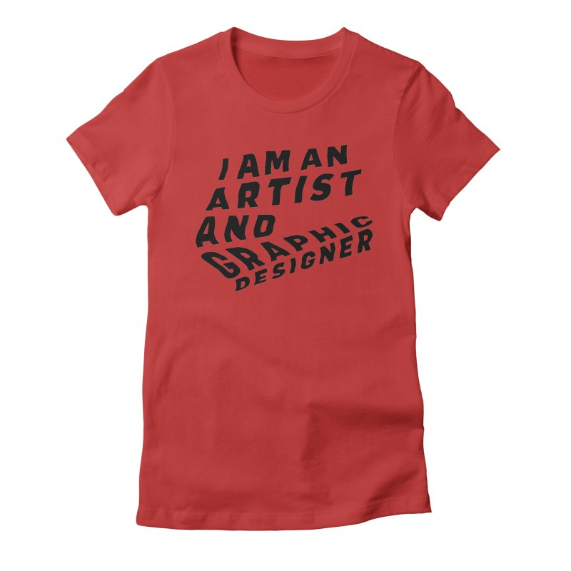 Who I am  Women's Fitted T-Shirt by Beers All Round